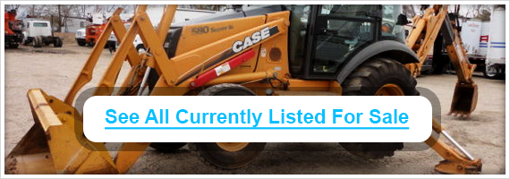Used Case backhoes for sale