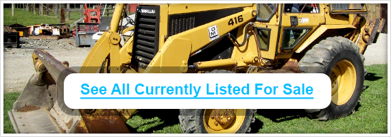 Used CAT backhoes for sale