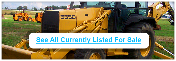 Used Ford backhoes for sale