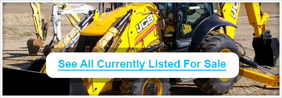 Used JCB backhoes for sale