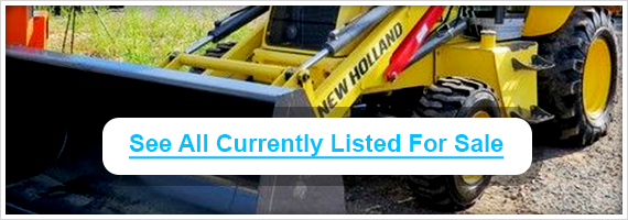 Used New Holland backhoes for sale