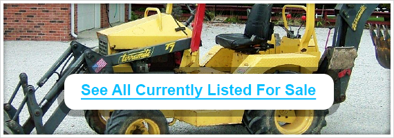 Used Terramite backhoes for sale